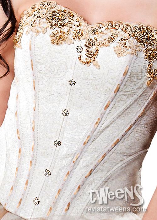 Hermosos Corsets Bordados Para Tu Vestido De Quince
