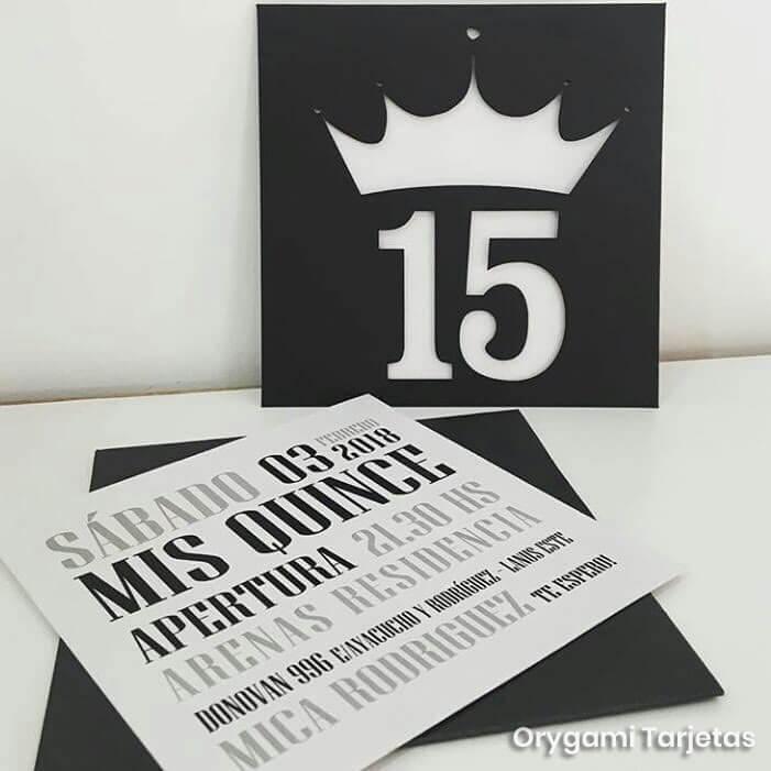 Tarjetas De 15 Elegantes Revista Tweens