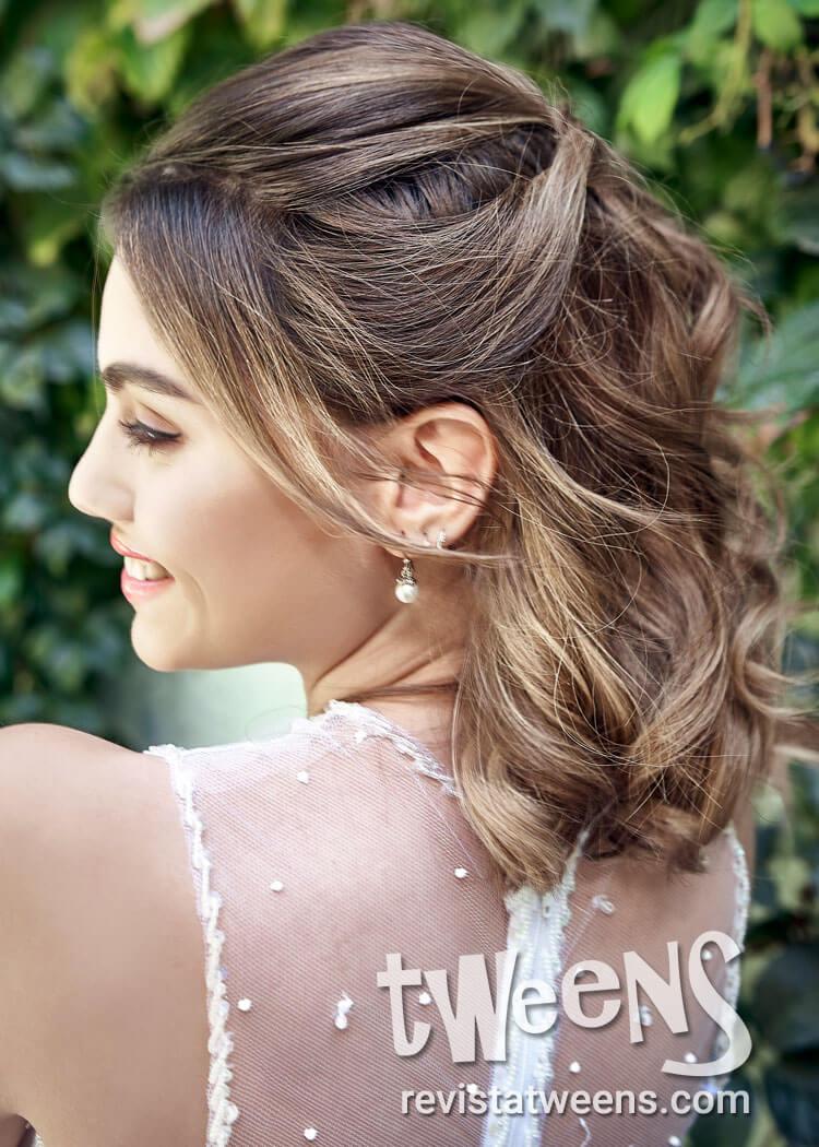 Peinado De 15 Anos Cabello Corto Sh Make Up Pelo Peinados De 15