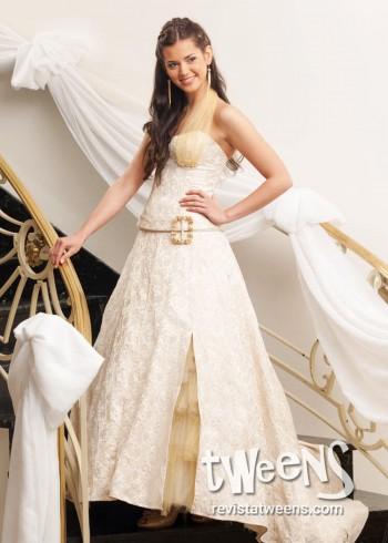 Vestidos De 15 Color Dorado Y Champagne Revista Tweens