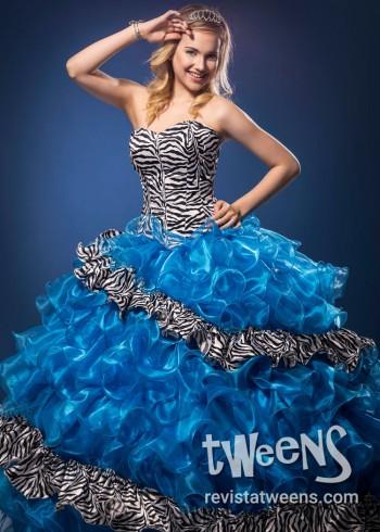 Hermoso Vestido De 15 Azul Perea Design Vestidos De 15