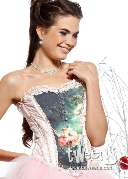 Vestido De 15 Años Rosa Combinado Con Jean Vestidos Led By